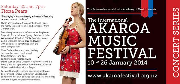 Fiona Pears - Concert - Akaroa Music Festival - 20140125