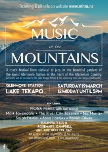 Fiona Pears - Concert - Music in the Mountains Glenmore Station - 20160319